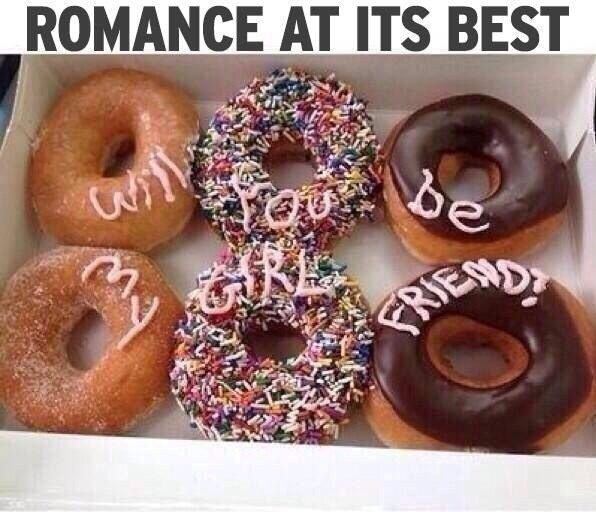 Can't urge this enough: Food. | 17 Sickeningly Romantic Ways To Ask Out Your Crush
