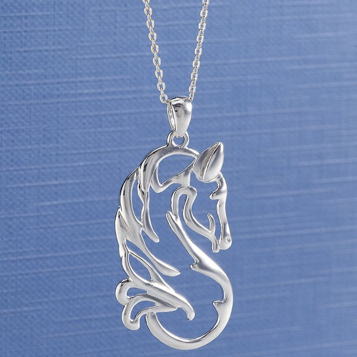 Great Sterling Quiet Beauty Necklace – Horse Themed Gifts, Clothing, Jewelry & Accesso…
