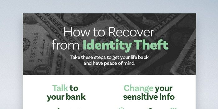 What to Do if Your Identity is Stolen  Wondering what to do about identity theft? Use this identity theft recovery process to regain control of your finances.
