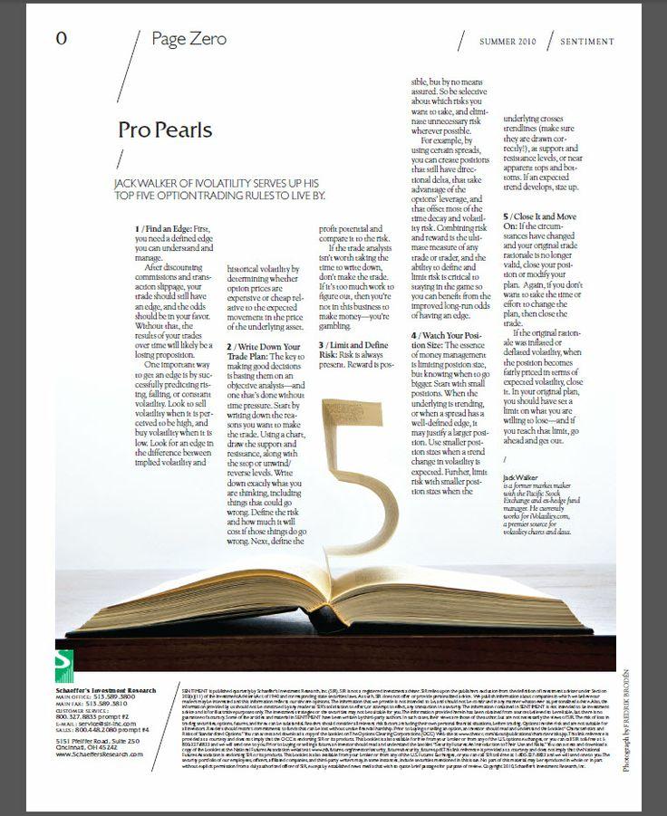 Sentiment Magazine - Department