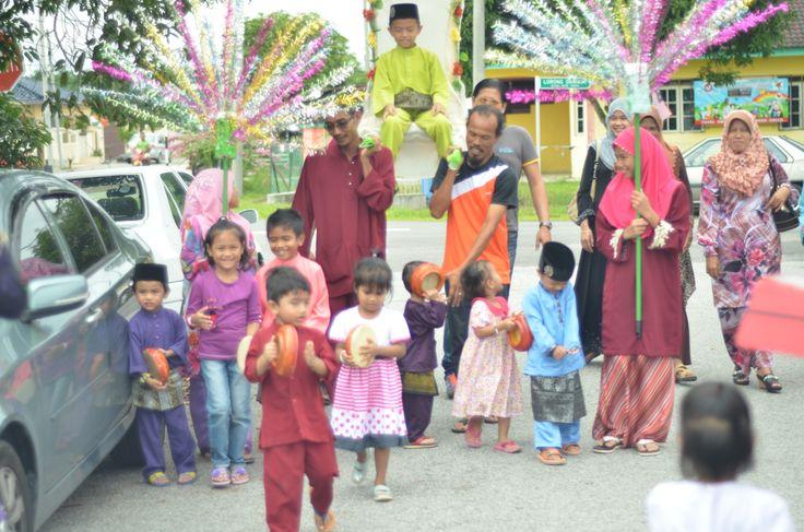 circumcision ceremony excitement the Malay community