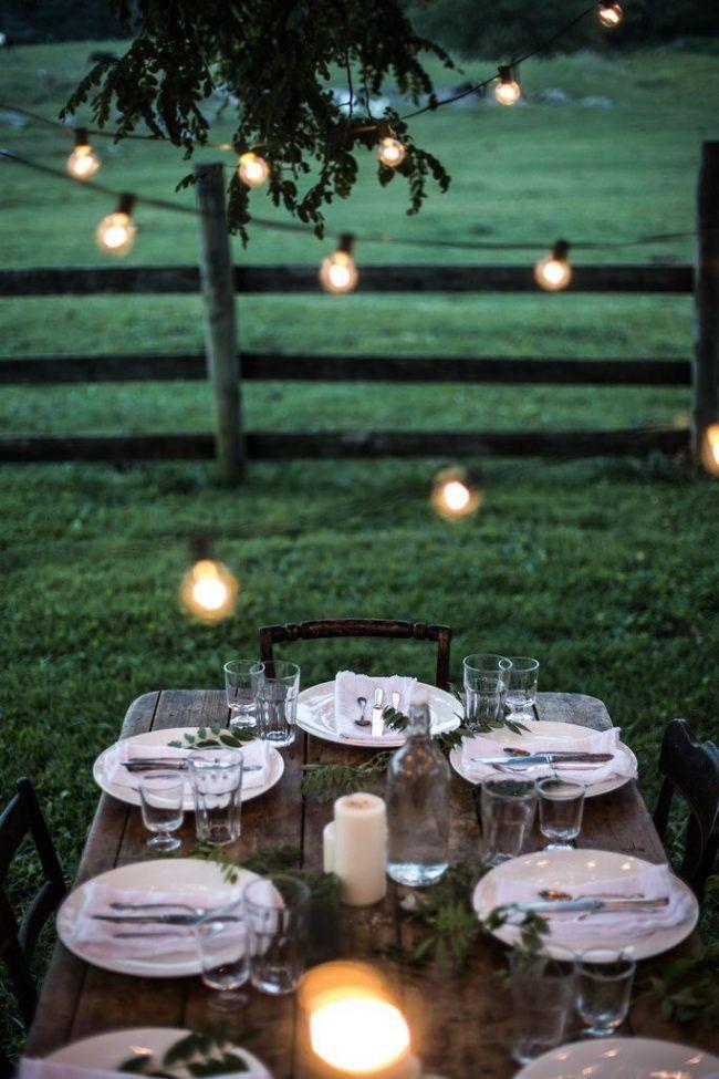 evening picnic.