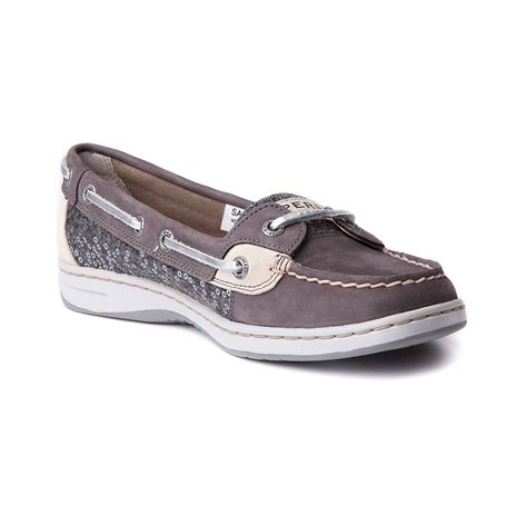Sperry Boat Shoes Womens Dark Grey