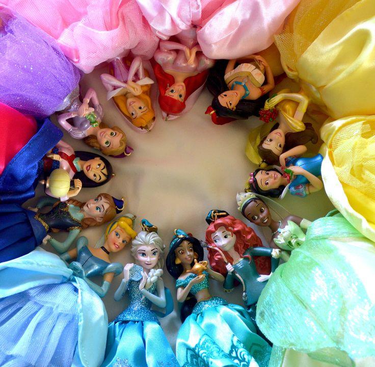 Disney princess ornaments