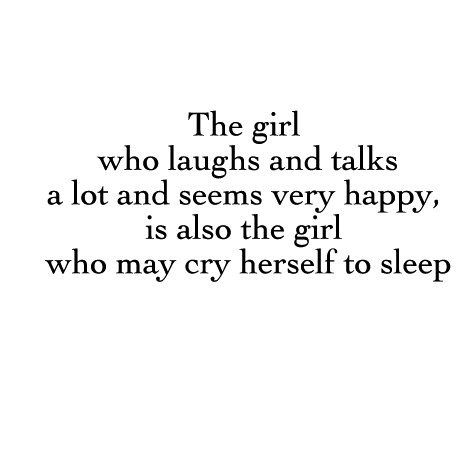 the girl who laughs and talks a lot