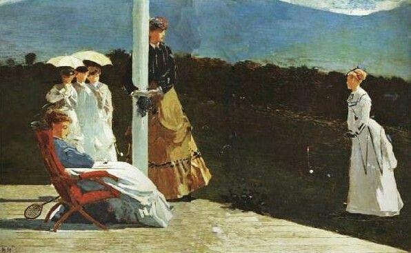 Winslow Homer croquet