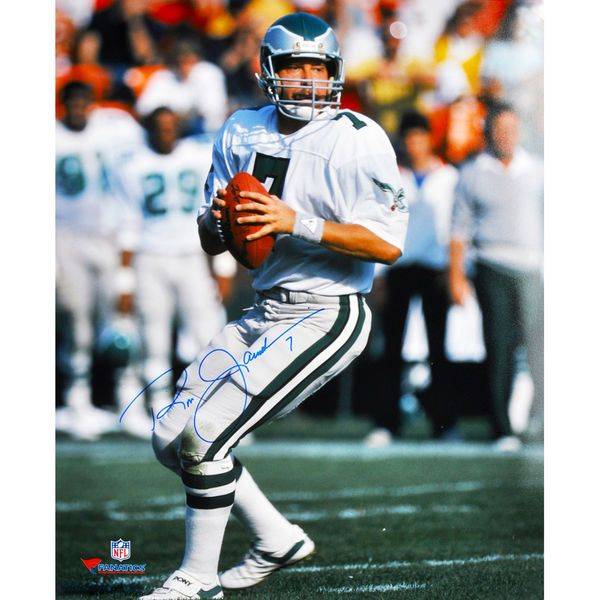 "Ron Jaworski Philadelphia Eagles Fanatics Authentic Autographed 16"" x 20"" Vertical White Uniform Passing Photograph - $79.99"