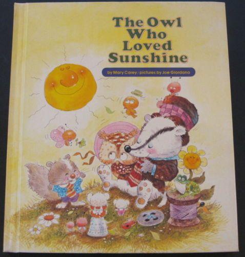 THE-OWL-WHO-LOVED-SUNSHINE-Mary-Carey-Joe-Giordano-1976-Golden-VG-HB