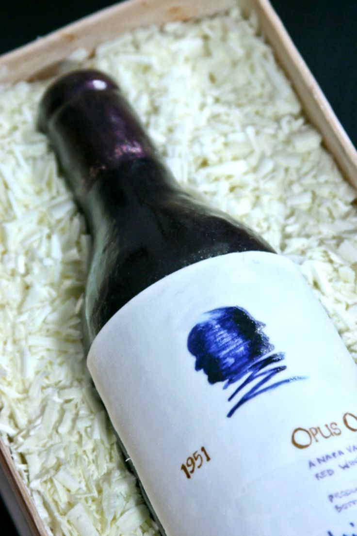 Wine Bottle Cake  - CountryLiving.com