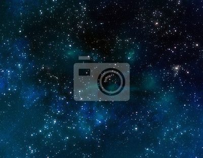 Wall Mural deep outer space or starry night sky - rendered • PIXERSIZE.com
