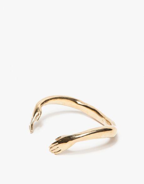Embrace cuff #jewelry #bracelet