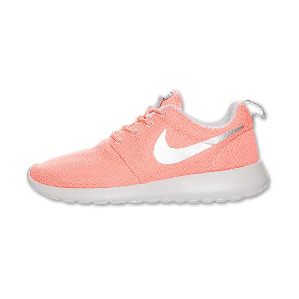 Women's Nike Roshe Run Casual Shoes ($70) ❤ liked on Polyvore featuring shoes, sneakers, nike, sport, sport shoes, sports trainer, nike trainers and nike shoes