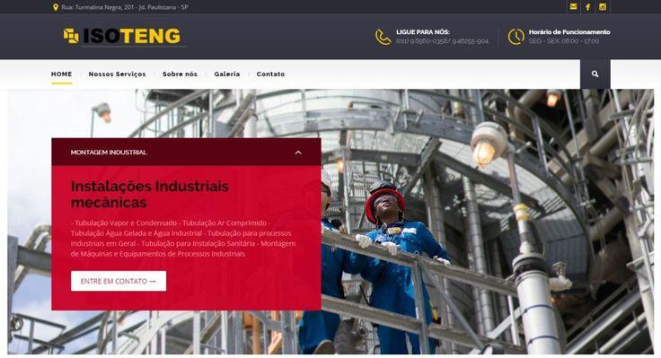 Isoteng Home 1- Desenvolvimento de sites    www.offweb.com.br