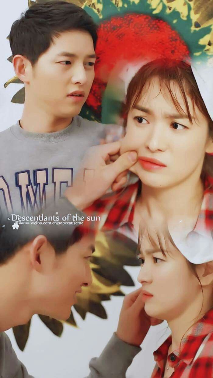 Most of the time those simple moment with you are the best....... #Descendants Of The Sun