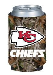 Kansas City Chiefs Camo Can Koozie