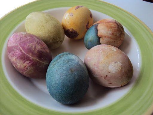Συνταγή για φυσικά βαμμένα αβγά