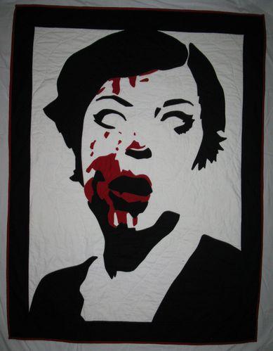 Zombie quilt!
