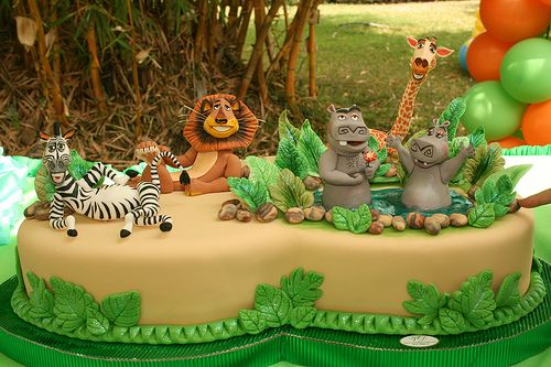 Tortas Decoradas de Madagascar |Ideas y decoración de fiestas ...