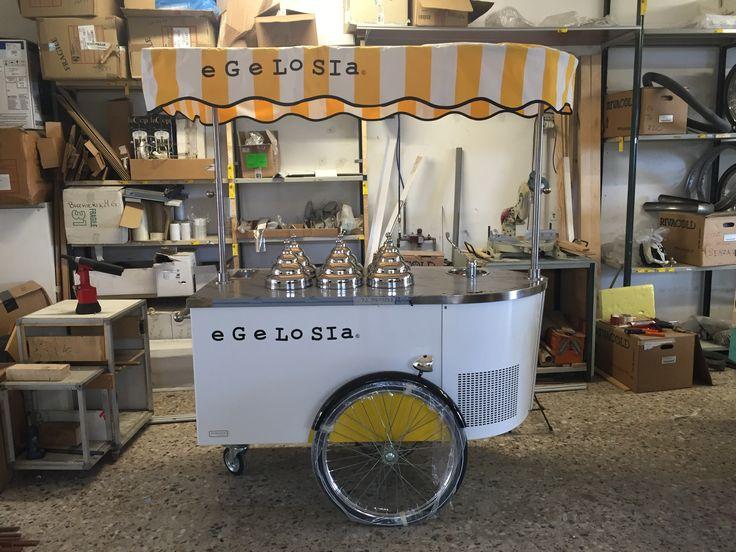 #icecreamcart #foodtruck #gelatocart #tekneitalia #cart #foodbusiness