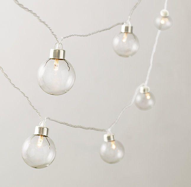 Glass Globe String Light LJC Screened in Porch Pinterest Glass globe, String lights and Globes