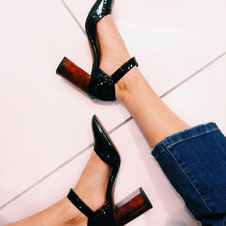 Mary-Janes just got an overhaul with tortoiseshell heels and a patent finish. #Topshop