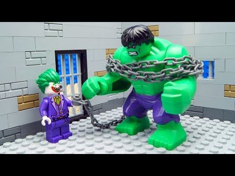 Lego Hulk Prison Break - VER VÍDEO -> http://quehubocolombia.com/lego-hulk-prison-break    briQle presents Lego Hulk Prison Break Stop Animation. Lego Joker is building a prison for Lego Hulk. Is Hulk able to escape? Superheroes in Real Life. Music: YouTube Audio Library Silent Partner – Pink Lemonade Créditos de vídeo a Popular on YouTube – Colombia YouTube channel