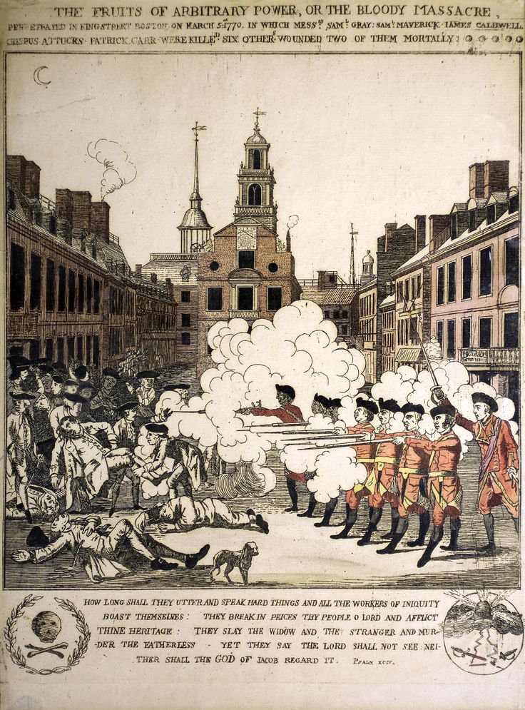 an analysis of the boston massacre Hfp://wwwnegroarastcom/revolutionay%20war/images/ crispus%20attucks%20%201st%20martyr%201770_jpgjpg.