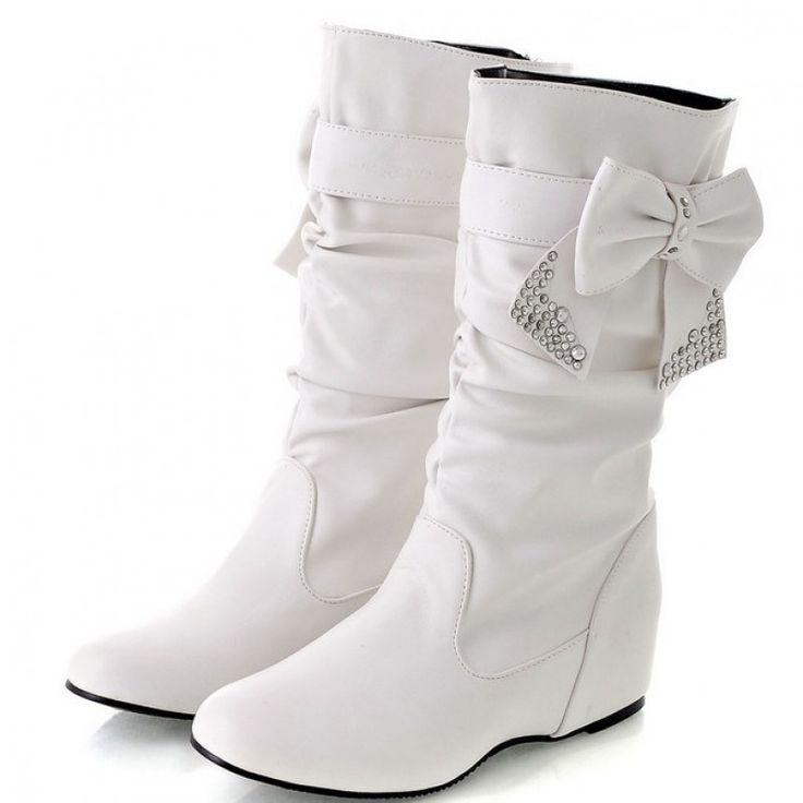 flat boots snow boots women winter shoes