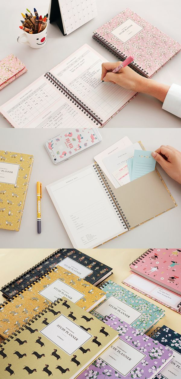 Set yourself up for success with the ever-lovely Pattern Ardium Study Planner! It's specially designed to help students stay goal-oriented, on-task, & organized! You can use the Weekly & Monthly Plan pages to plan out your tests, assignments, events, dates, & more. Keep track of your academic progress with the dedicated pages & there's also space to write down your bucket list & favorite inspirational quotes so you can stay motivated! Choose from 8 sweet cover styles & skate your way to…
