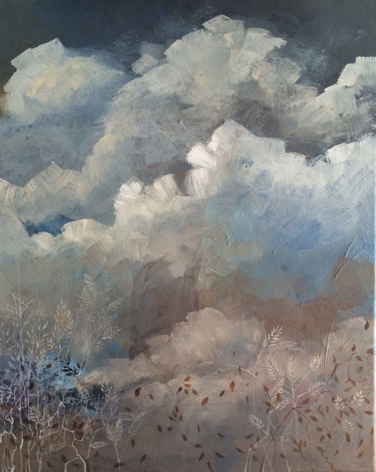 Cloud Study III - with a touch of wind!