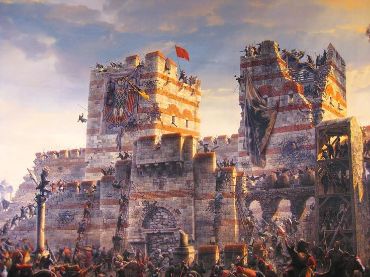 561st Anniversary of The Conquest of Constantinople