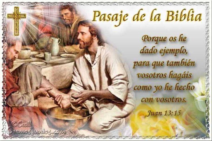 Vidas Santas: Santo Evangelio según san Juan 13:15