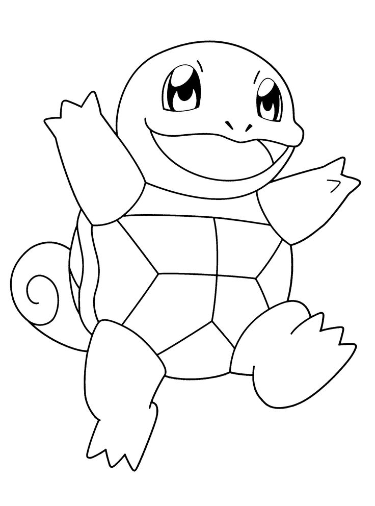Nice Pokemon Character Pokemon Character Nice Coloring Pages