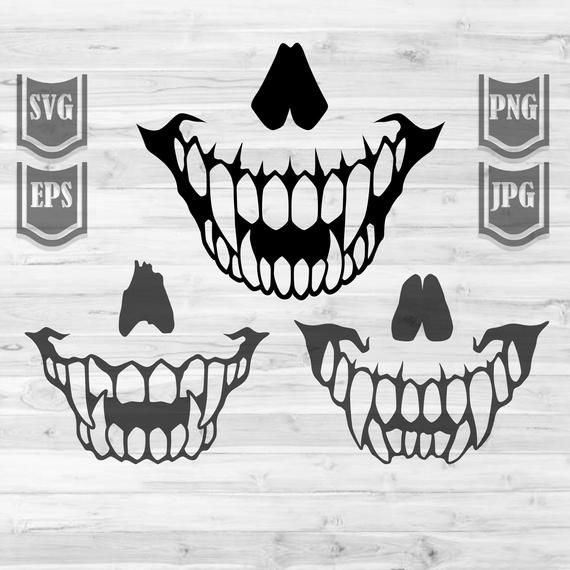 3 Sharp Scary Teeth Svg File Sharp Teeth Cliparts Etsy In 2021 Cartoon Wallpaper Teeth Illustration Stock Art