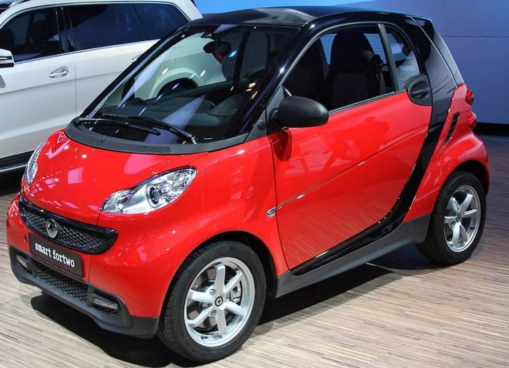 Mercedes SMART ForTwo (Red)