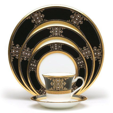 Black And White Dinnerware Tableware