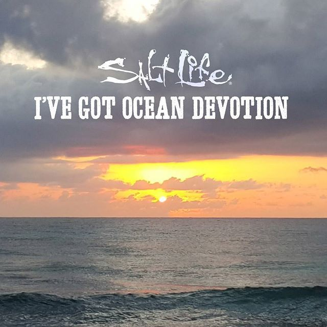 I've got ocean devotion! #SaltLife