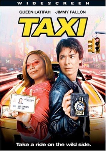 taxi widescreen dvd, 2004, queen latifah, jimmy fallon in 2018