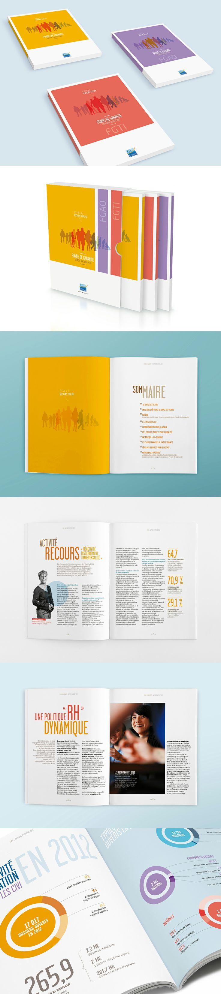 Rapport d'activité Fonds de Garantie, 2012 / Agence Citizen Press (Paris)
