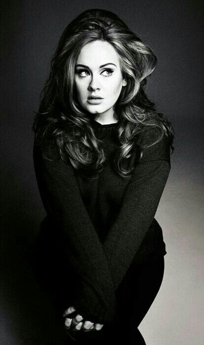 "Adele,  I like how she doesn't let Hollywood mess with her image.  As she once quoted ""I make music for ears, not eyes"""