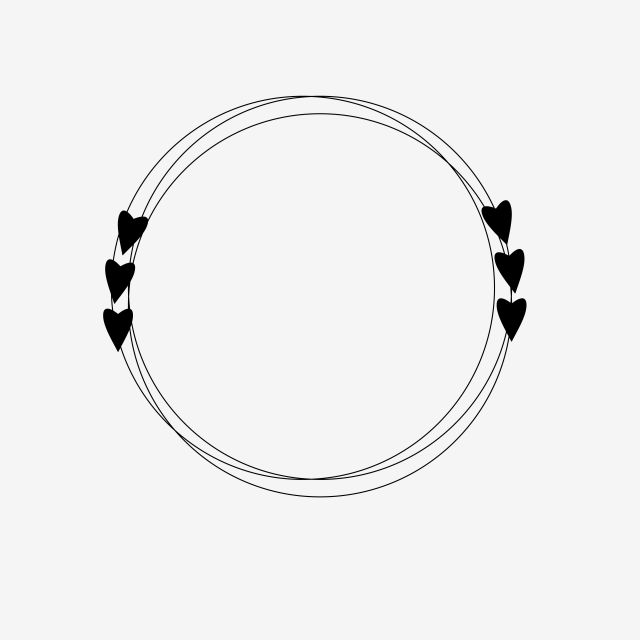Circle Love Circle Love Heart Frame Heart Notebook Love Book Amour Daily Decor Design Cute Frame Circle Frames Love Heart Drawing Frame Logo