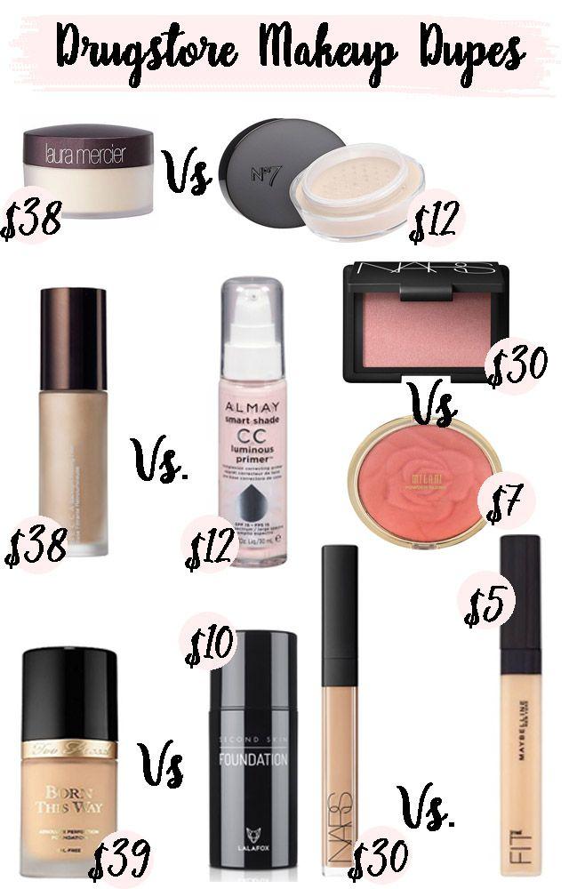 Makeup Dupes Makeup Dupes Drugstore Makeup Dupes Makeup Cosmetics