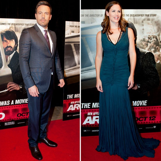 Ben Affleck and Jennifer Garner at DC Argo Premiere