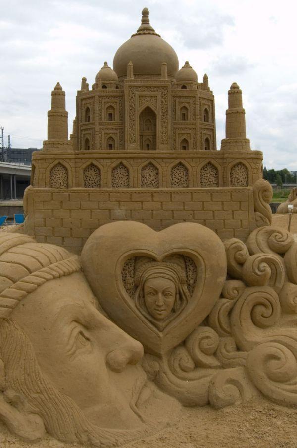 Песчаные замки волшебной красоты - Ярмарка Мастеров - ручная работа, handmade