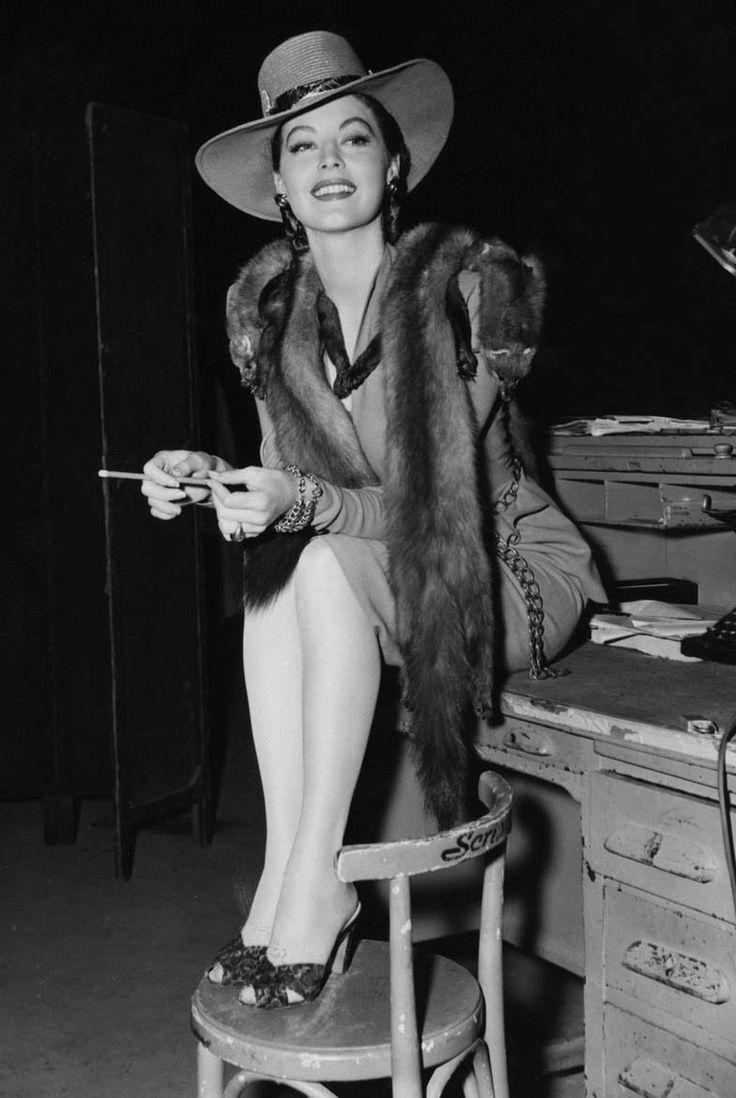Ava Gardner, 1947.