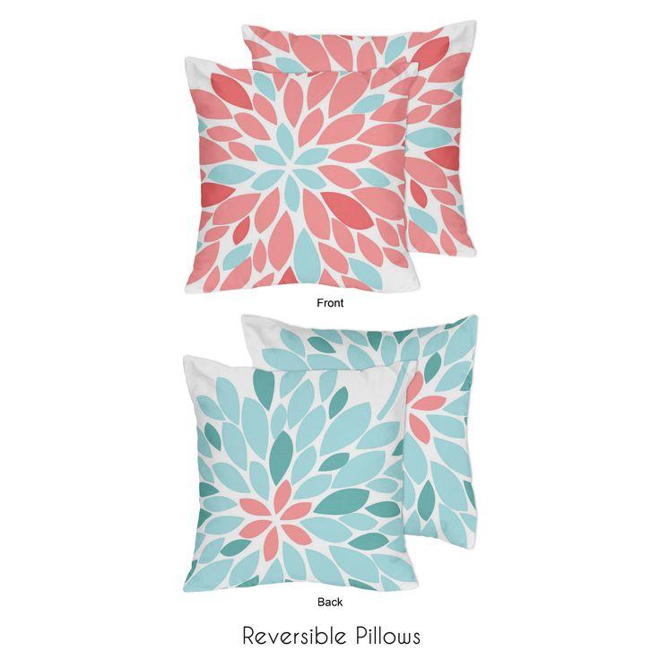 Sweet Jojo Designs Emma Decorative Throw Pillow