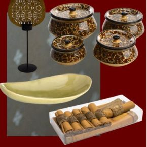 Dine inStyle...Accessories perfect for an elegant formal dinner party.