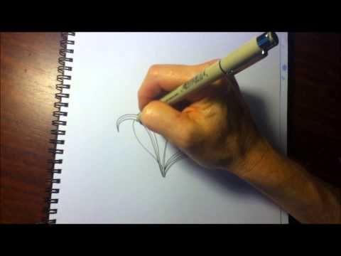 ▶ Mooka foliage - variation of mooka pattern - YouTube