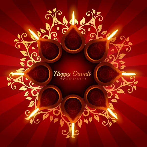 Happy Diwali Vectors, Wallpapers and Greetings Free Download #diwali #happy_diwali #wallpapers #greetings #backgrounds #vector