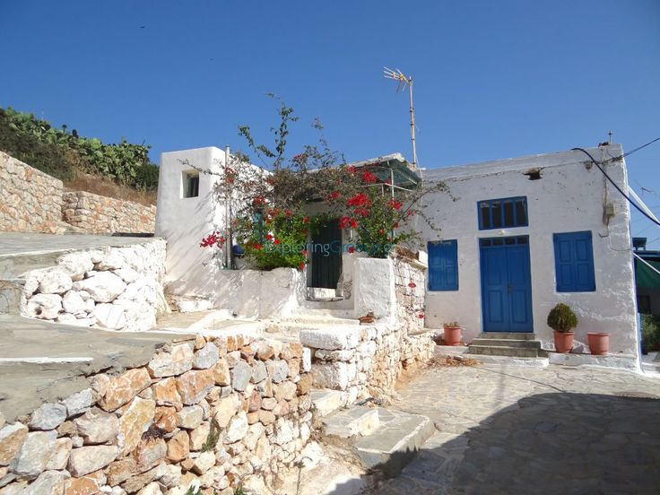 Stavros village Donoussa island Cyclades